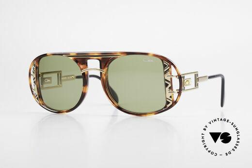 Cazal 875 90er Designer Sonnenbrille Details