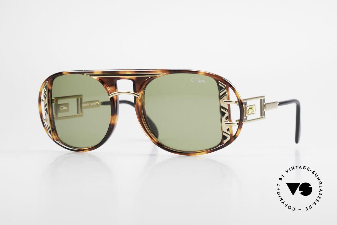 Cazal 875 90er Designer Sonnenbrille, spektakuläre Designer-Sonnenbrille von 1992/1993, Passend für Herren und Damen