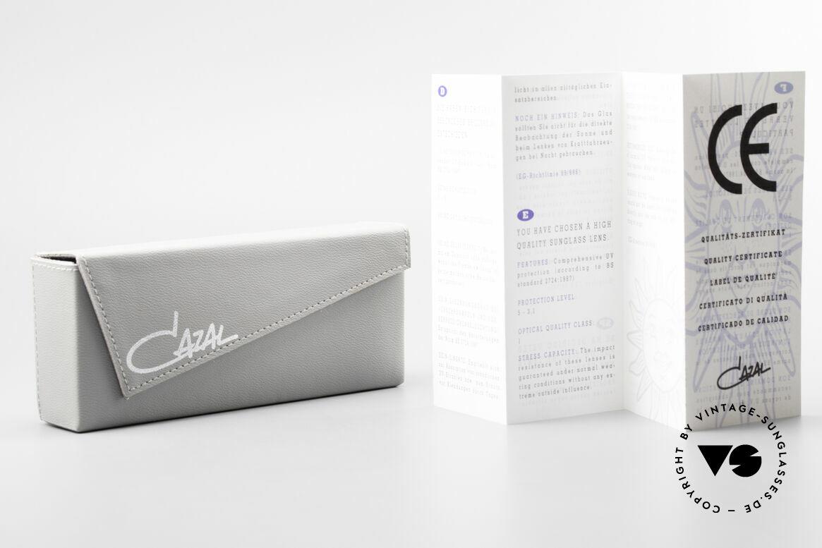 Cazal 875 90er Designer Sonnenbrille, Größe: medium, Passend für Herren und Damen