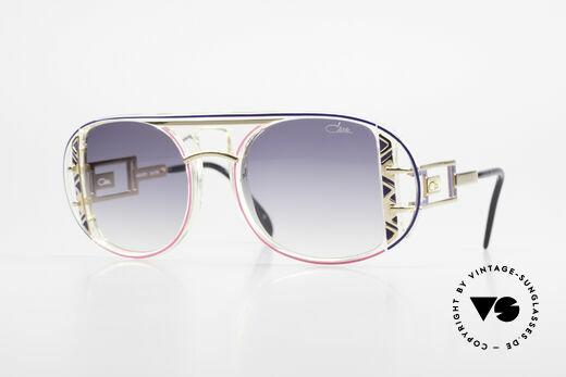 Cazal 875 Rare Designer Sonnenbrille Details