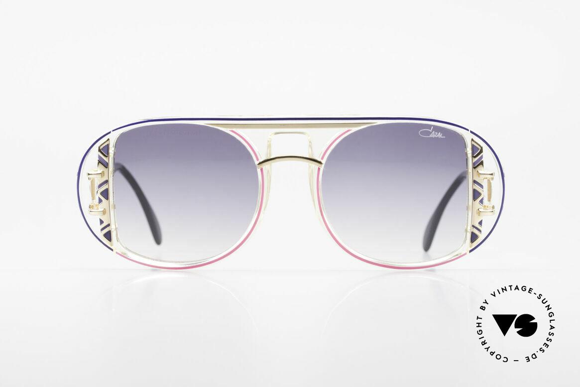 Cazal 875 Rare Designer Sonnenbrille, spektakuläre Designer-Sonnenbrille von 1992/1993, Passend für Herren und Damen