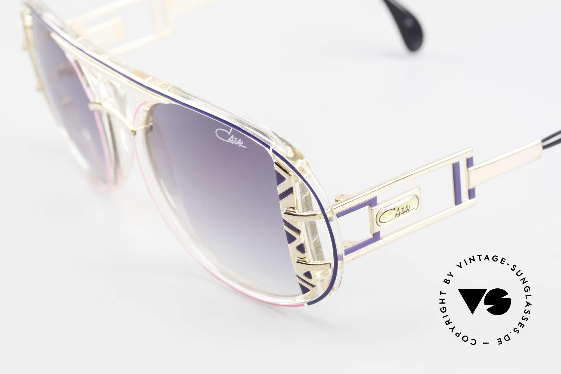 Cazal 875 Rare Designer Sonnenbrille, ein echter vintage Hingucker; zudem in Top-Qualität, Passend für Herren und Damen