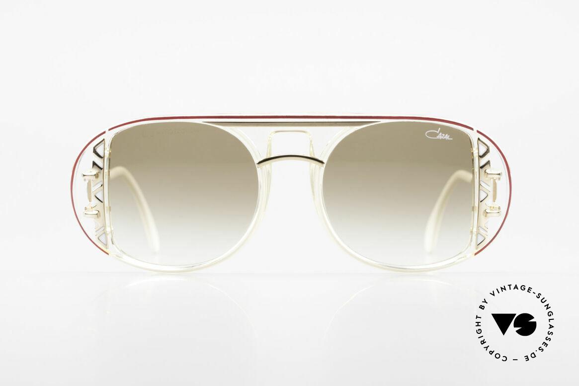 Cazal 875 Hip Hop Unisex Sonnenbrille, von Design-Papst - Cari Zalloni (CAZAL) entworfen, Passend für Herren und Damen