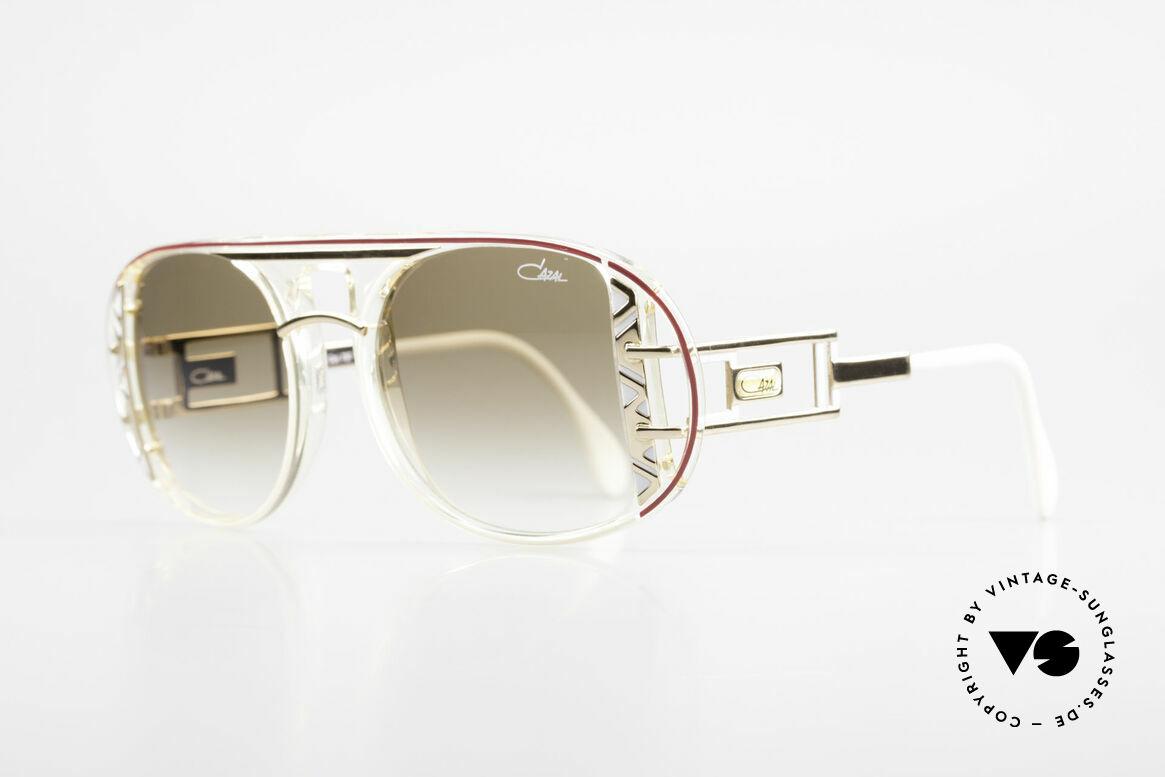 Cazal 875 Hip Hop Unisex Sonnenbrille, einzigartige Fassung in aufwendiger Farbgestaltung, Passend für Herren und Damen