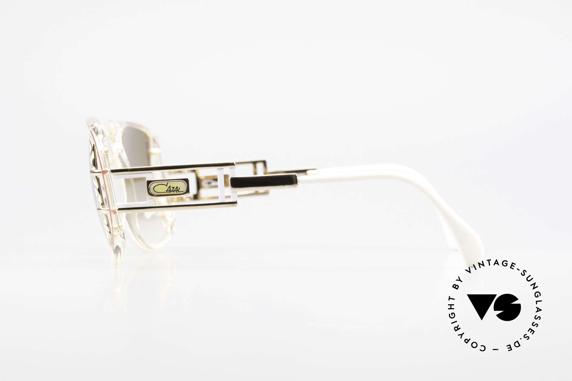 Cazal 875 Hip Hop Unisex Sonnenbrille, KEINE RETROmode; ein circa 25 Jahre altes UNIKAT!, Passend für Herren und Damen