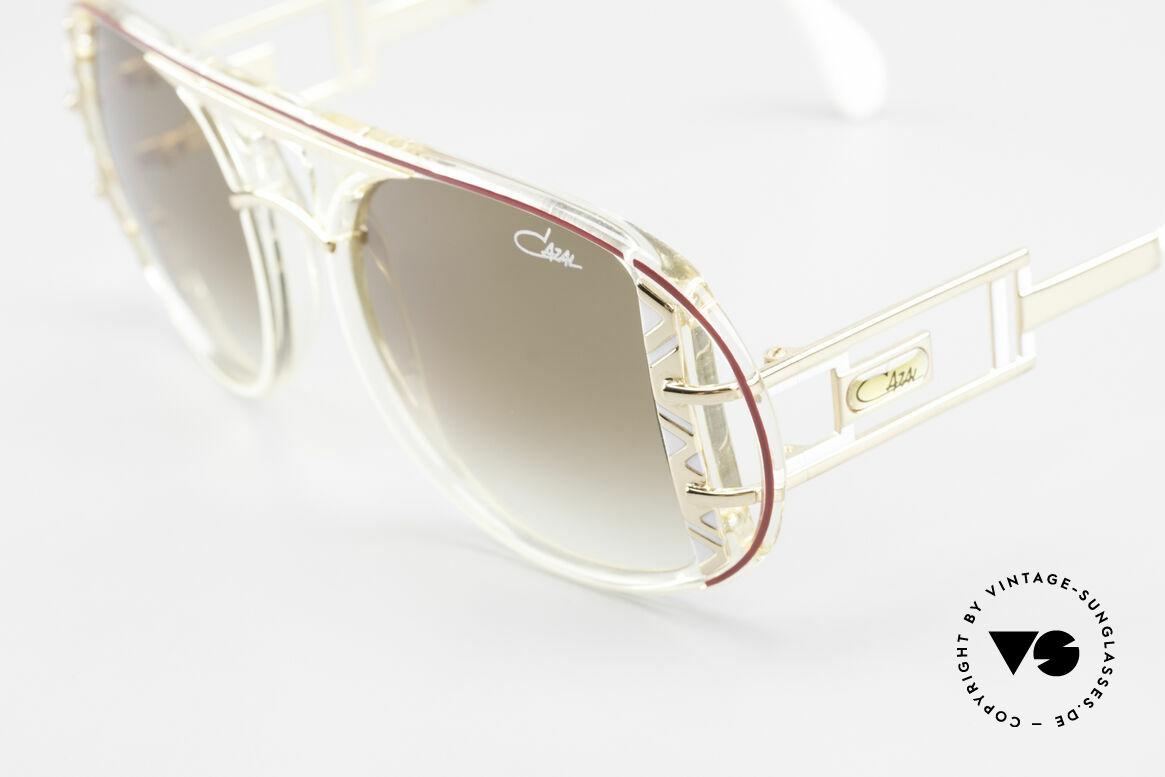 Cazal 875 Hip Hop Unisex Sonnenbrille, ein echter vintage Hingucker; zudem in Top-Qualität, Passend für Herren und Damen