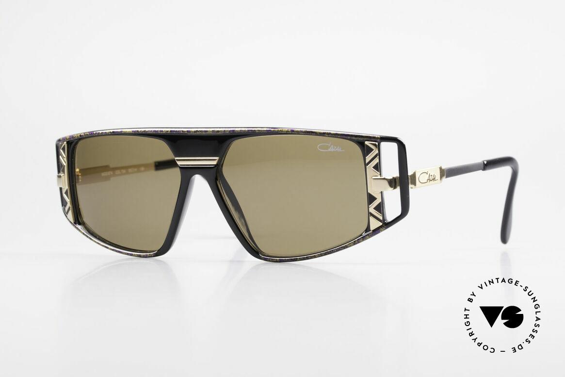 Cazal 874 Legendäre 90er Sonnenbrille, legendäre Cazal DesignerSonnenbrille von 1993/94, Passend für Herren und Damen