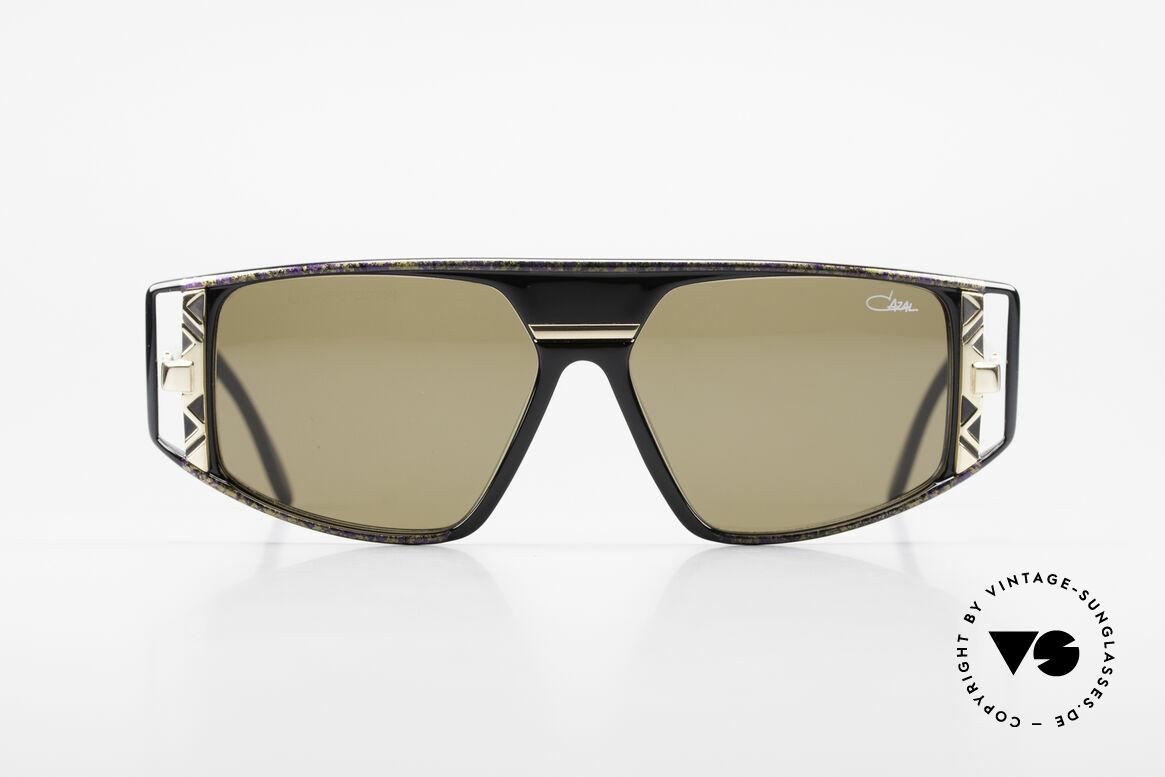 Cazal 874 Legendäre 90er Sonnenbrille, spektakuläre Kombination von Farben und Formen, Passend für Herren und Damen