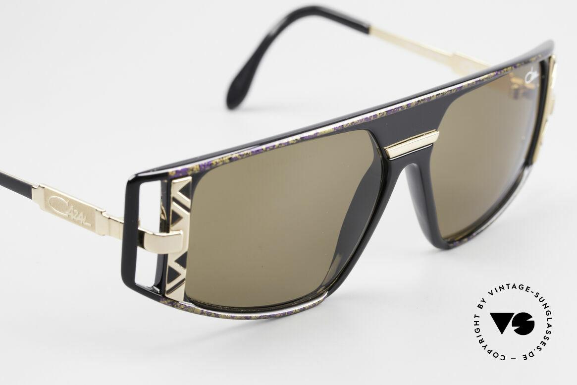 Cazal 874 Legendäre 90er Sonnenbrille, Unisex-Modell, ungetragen und mit orig. Cazal Etui, Passend für Herren und Damen
