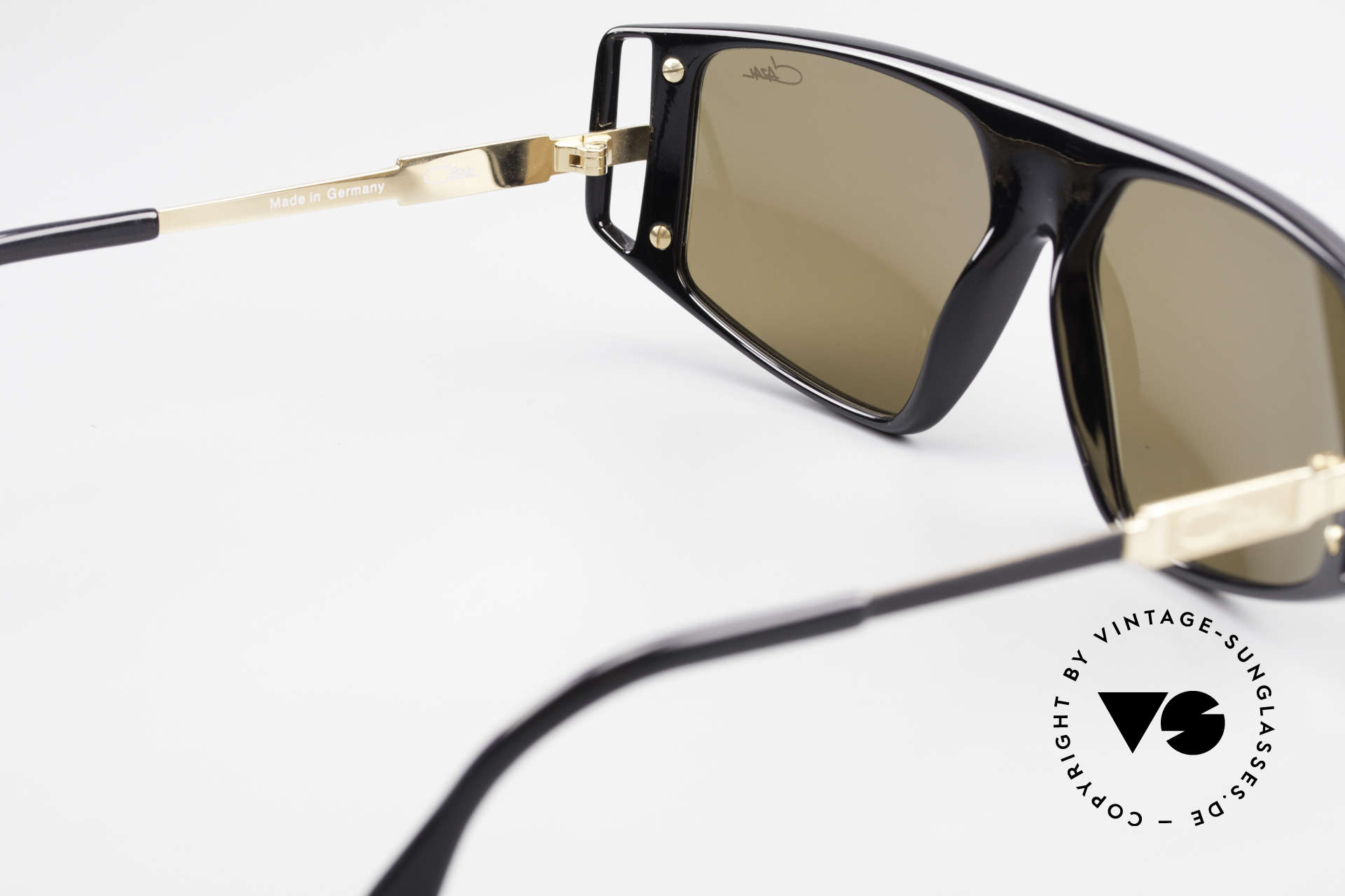 Cazal 874 Legendäre 90er Sonnenbrille, KEINE RETROmode; ein ca. 25 Jahre altes Original!, Passend für Herren und Damen