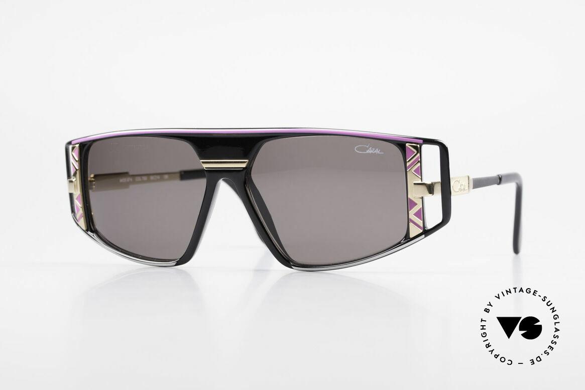 Cazal 874 Lady Gaga Sonnenbrille 90er, legendäre Cazal DesignerSonnenbrille von 1993/94, Passend für Herren und Damen