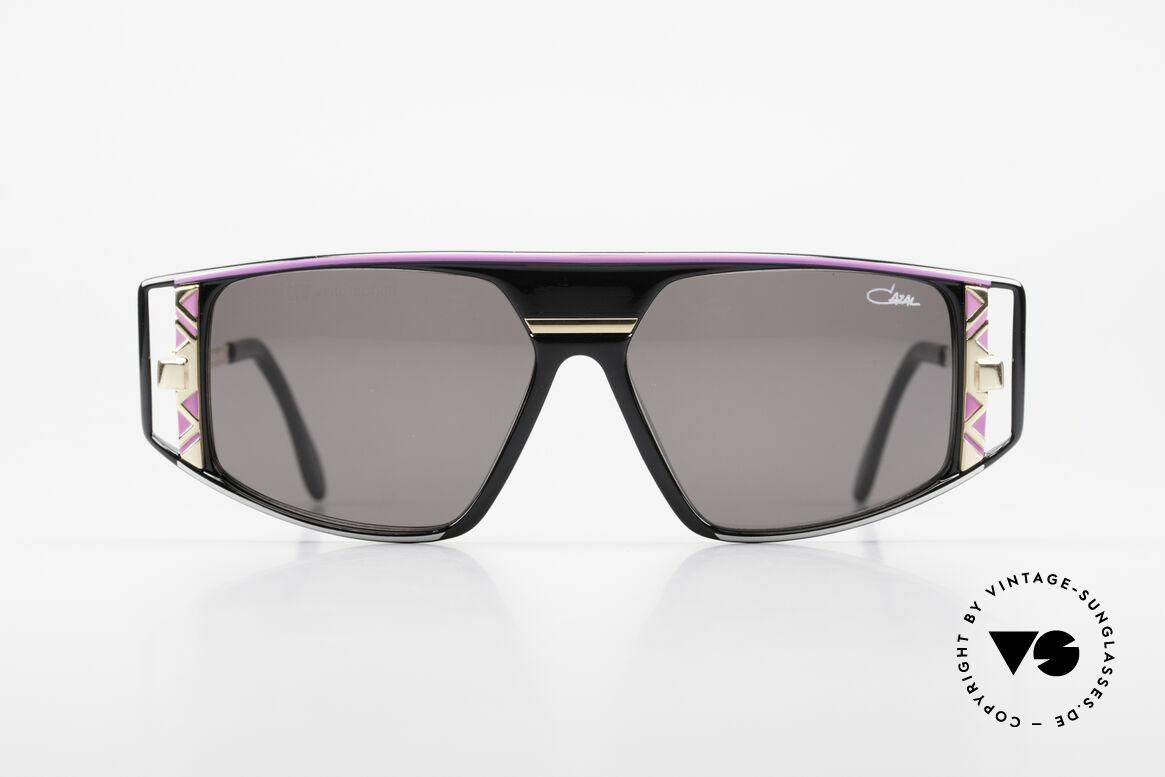 Cazal 874 Lady Gaga Sonnenbrille 90er, spektakuläre Kombination von Farben und Formen, Passend für Herren und Damen