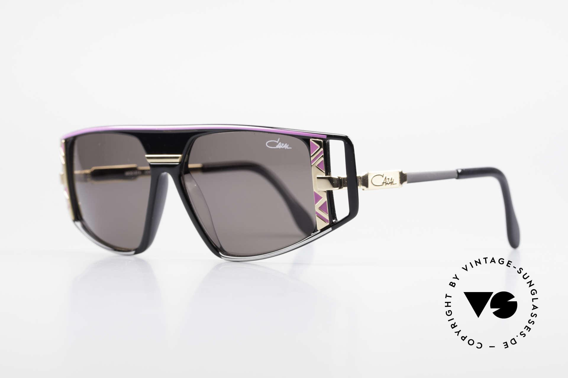 Cazal 874 Lady Gaga Sonnenbrille 90er, enorm viele Design-Details (unverwechselbar Cazal), Passend für Herren und Damen