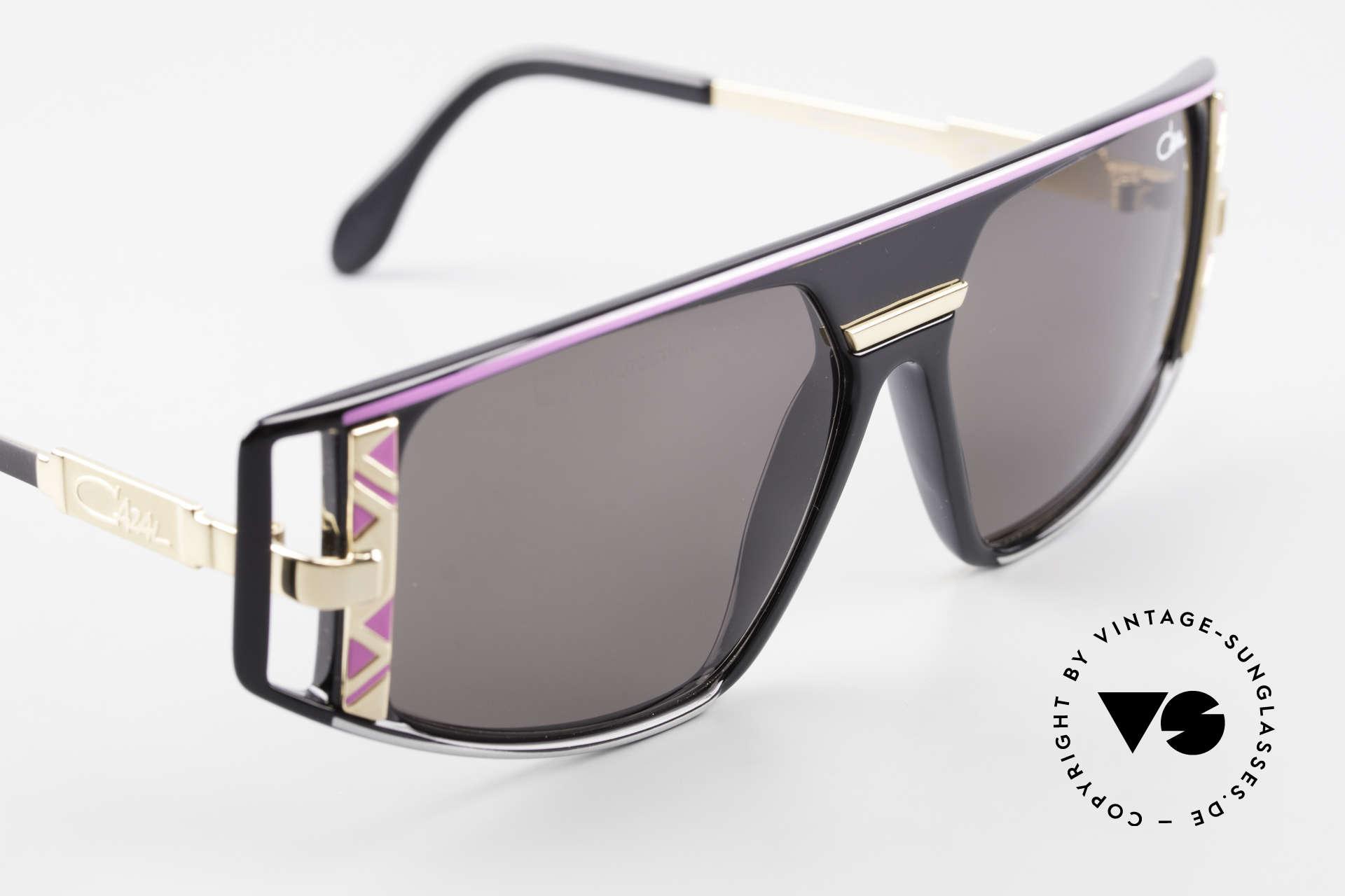 Cazal 874 Lady Gaga Sonnenbrille 90er, Unisex-Modell, ungetragen und mit orig. Cazal Etui, Passend für Herren und Damen