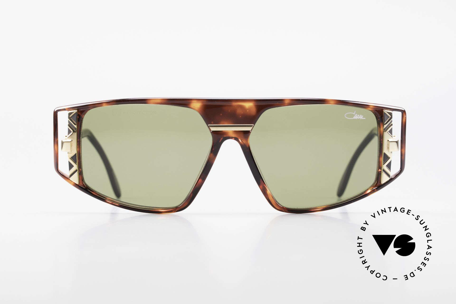 Cazal 874 1990er Unisex Designerbrille, legendäre Cazal DesignerSonnenbrille von 1993/94, Passend für Herren und Damen