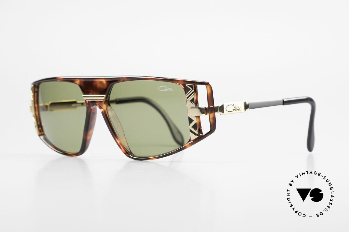 Cazal 874 1990er Unisex Designerbrille, enorm viele Design-Details (unverwechselbar Cazal), Passend für Herren und Damen