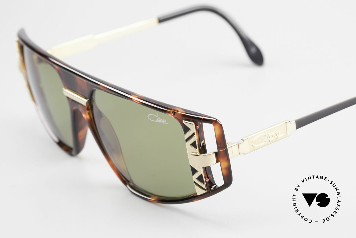 Cazal 874 1990er Unisex Designerbrille, getragen von Lady Gaga (MTV-Interview 12 / 2009), Passend für Herren und Damen