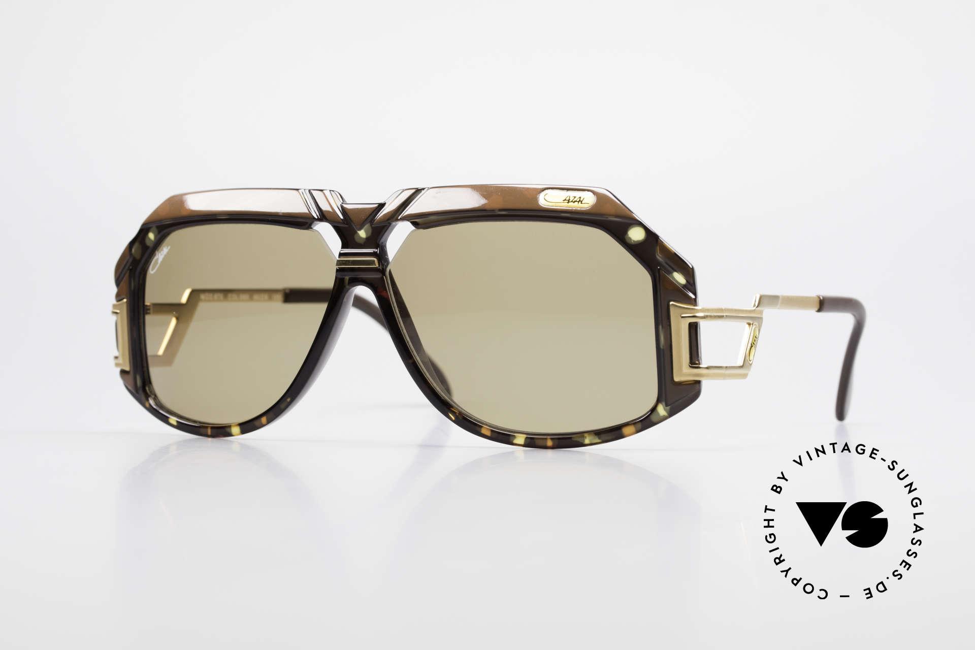 Cazal 870 Seltene 80er Designerbrille, extrem seltene Cazal DesignerSonnenbrille von 1988, Passend für Herren und Damen