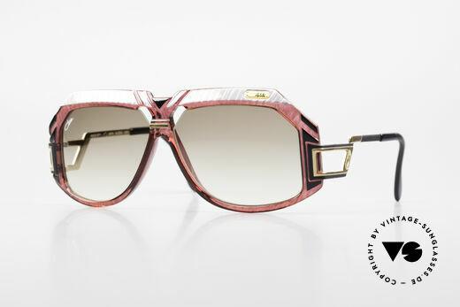 Cazal 870 80er Vintage Designerbrille Details