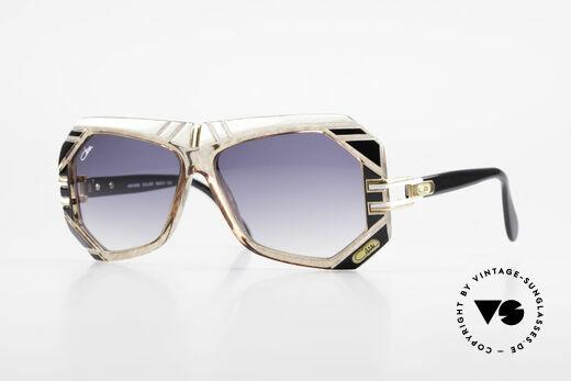 Cazal 868 Kunstvolle 80er Designerbrille Details