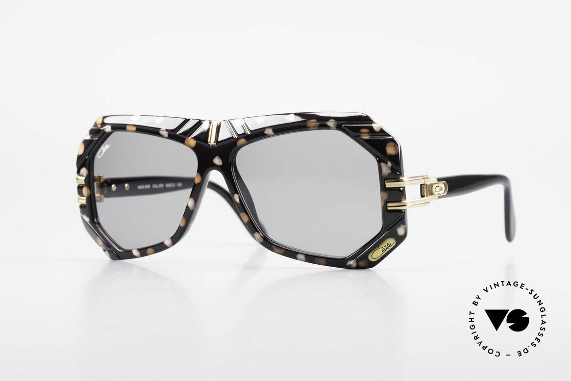 Cazal 868 West Germany Designerbrille, außergewöhnliche Designer-Sonnenbrille von 1989/90, Passend für Herren und Damen