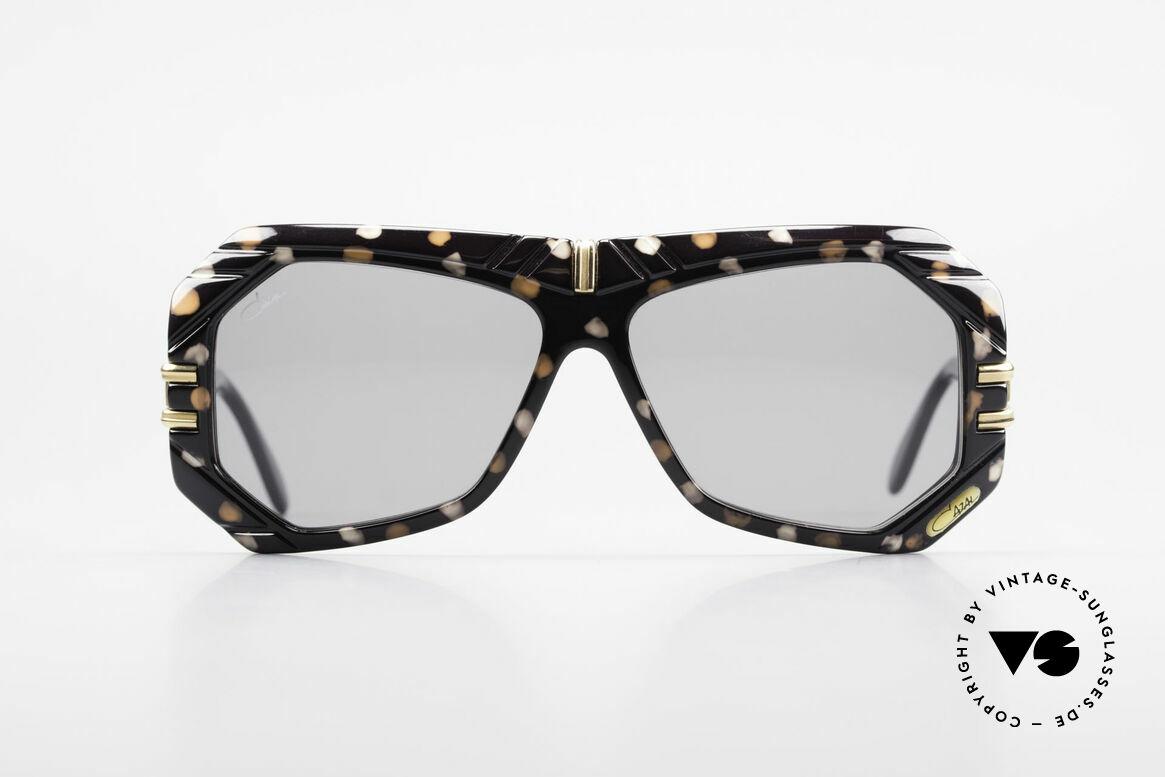Cazal 868 West Germany Designerbrille, geniale Kombination aus Formen, Farben & Materialien, Passend für Herren und Damen