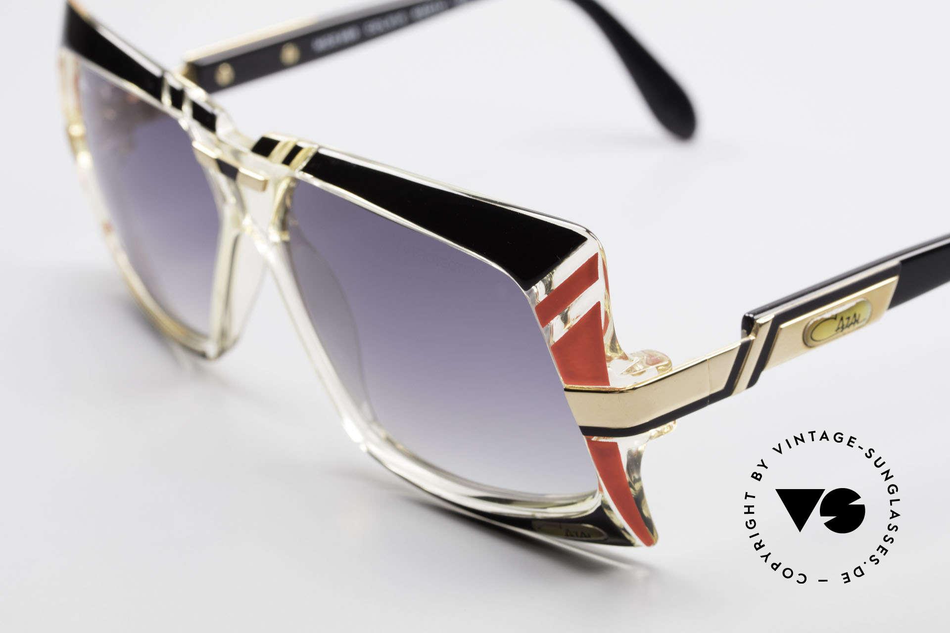 Cazal 869 80er True Vintage Sonnenbrille, herausragende Designerbrille von CAri ZALloni, Cazal, Passend für Herren und Damen