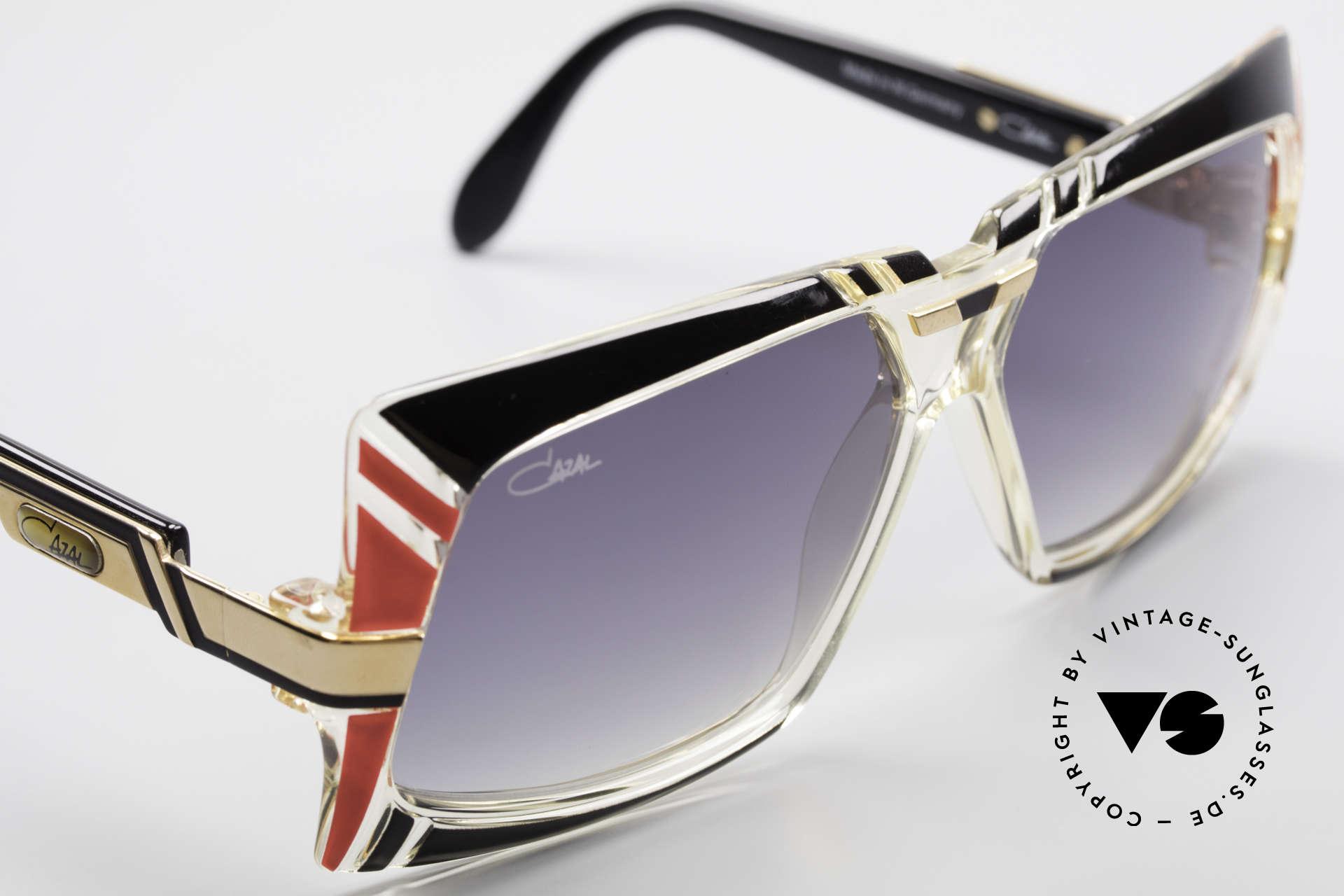 Cazal 869 80er True Vintage Sonnenbrille, ein echtes Sammlerstück in unberührtem Top-Zustand, Passend für Herren und Damen
