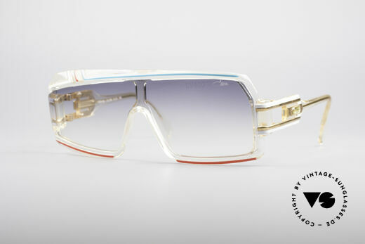 Cazal 858 Asymmetrische 80er Brille Details