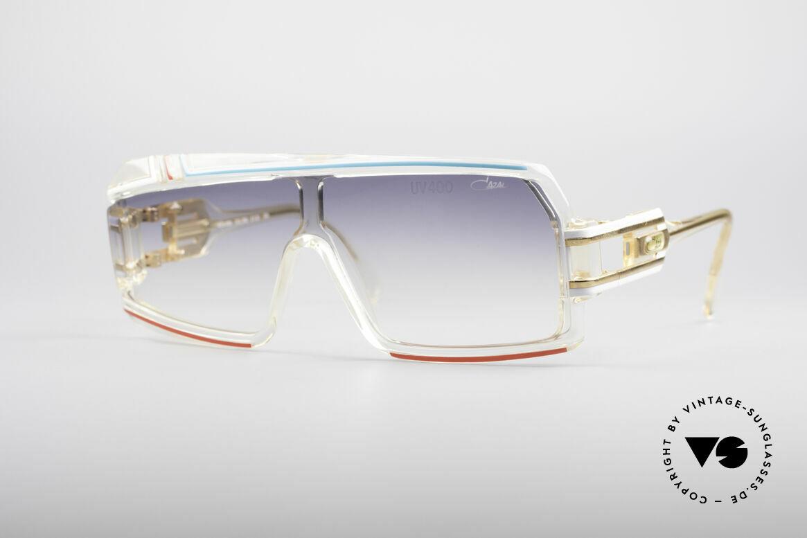 Cazal 858 Asymmetrische 80er Brille