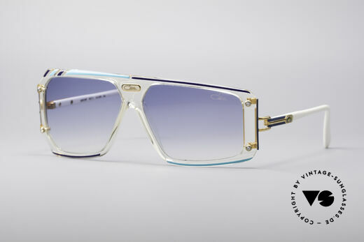 Cazal 867 Asymmetrical Designer Shades Details