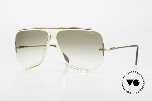 Cazal 850 Old School 80er Sonnenbrille Details