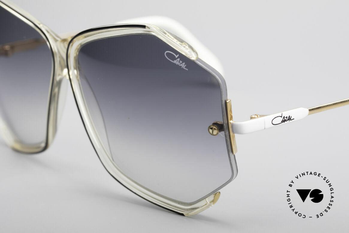 Cazal 852 Riesige 80er Vintage Brille, ungetragene Rarität in Top-Zustand; inklusive Etui, Passend für Damen