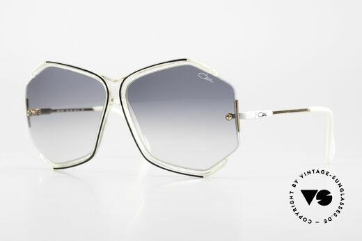 Cazal 852 Riesige 80er Vintage Brille Details