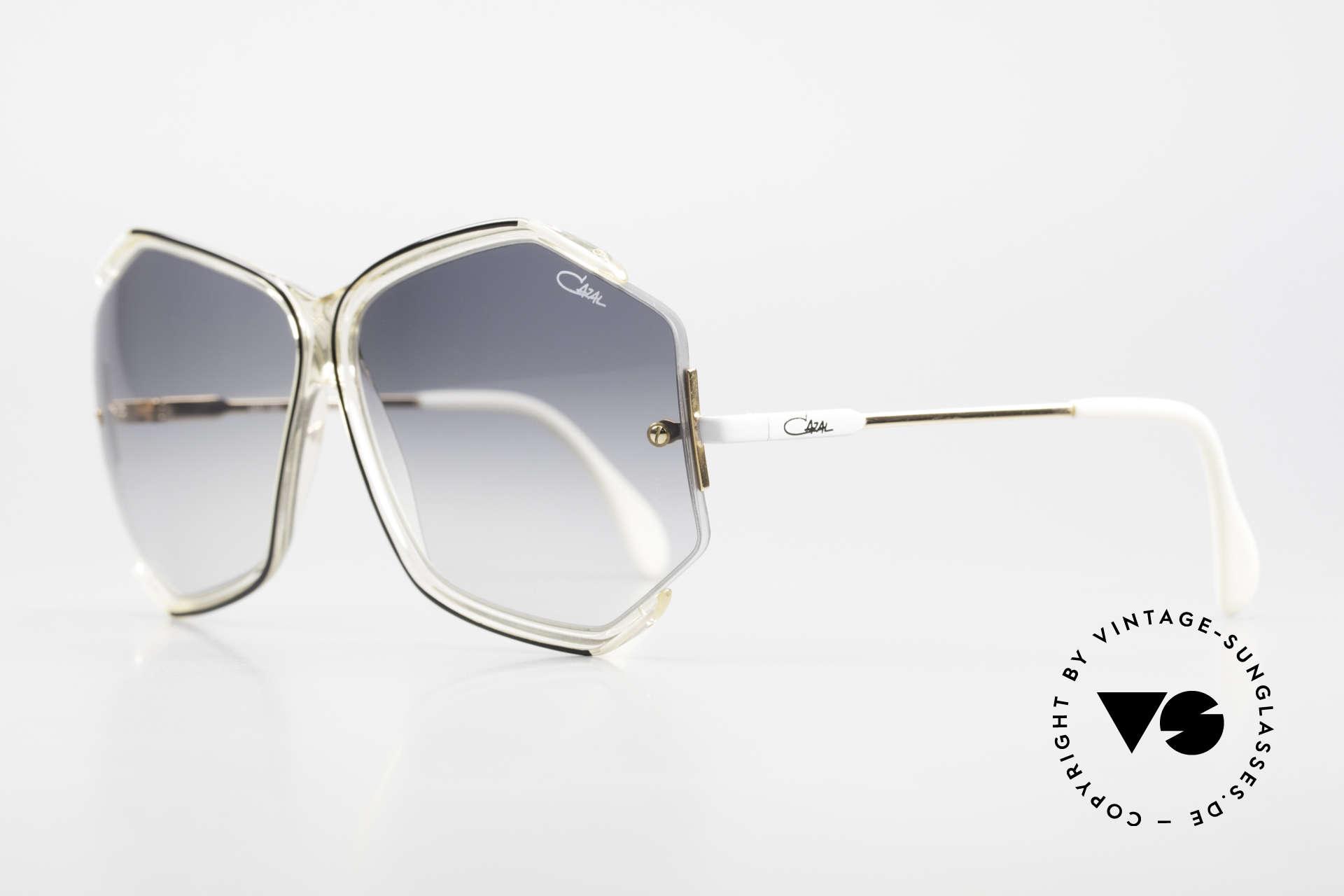 Cazal 852 Riesige 80er Vintage Brille, subtil extravagant (ein wahres Designerstück eben), Passend für Damen