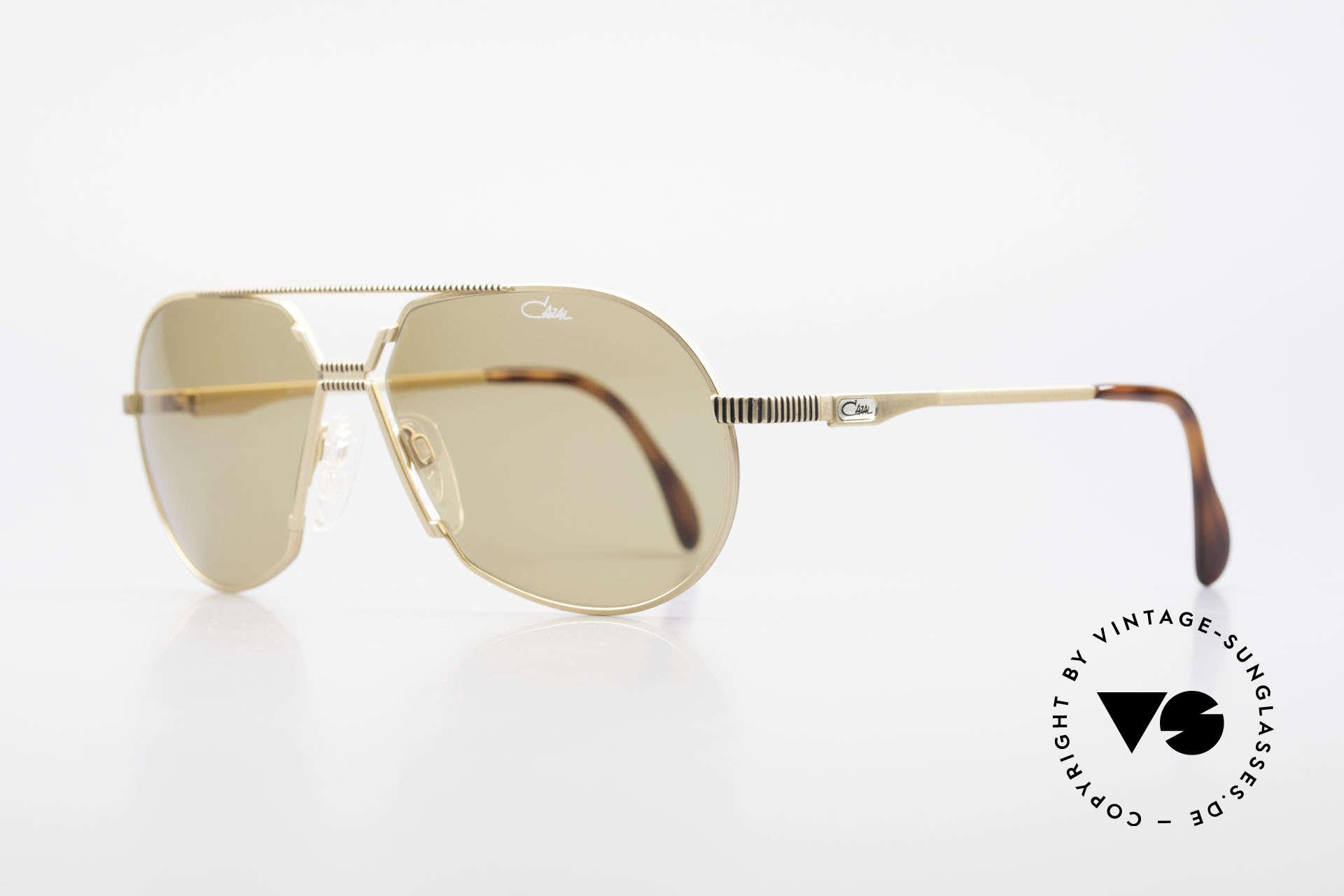 Cazal 968 Al Pacino Filmsonnenbrille, das meistgesuchte Cazal vintage Modell, weltweit, Passend für Herren