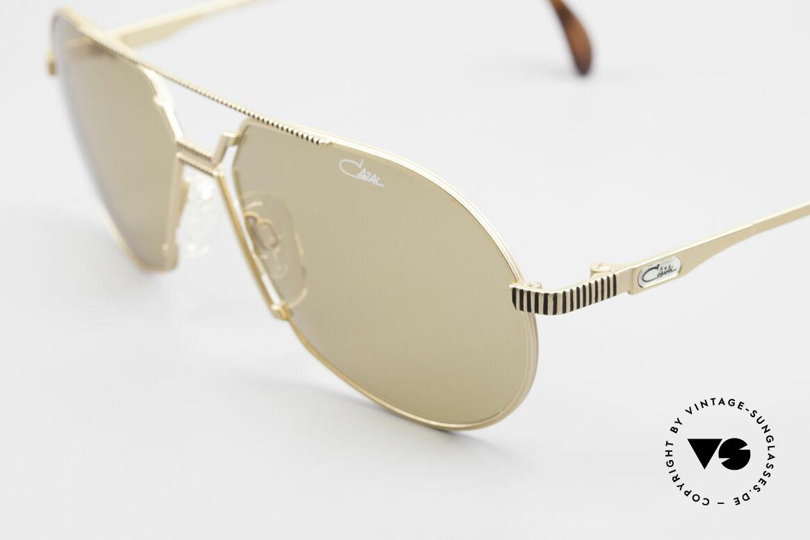 Cazal 968 Al Pacino Filmsonnenbrille, ungetragene Rarität inkl. orig. Etui & Verpackung, Passend für Herren