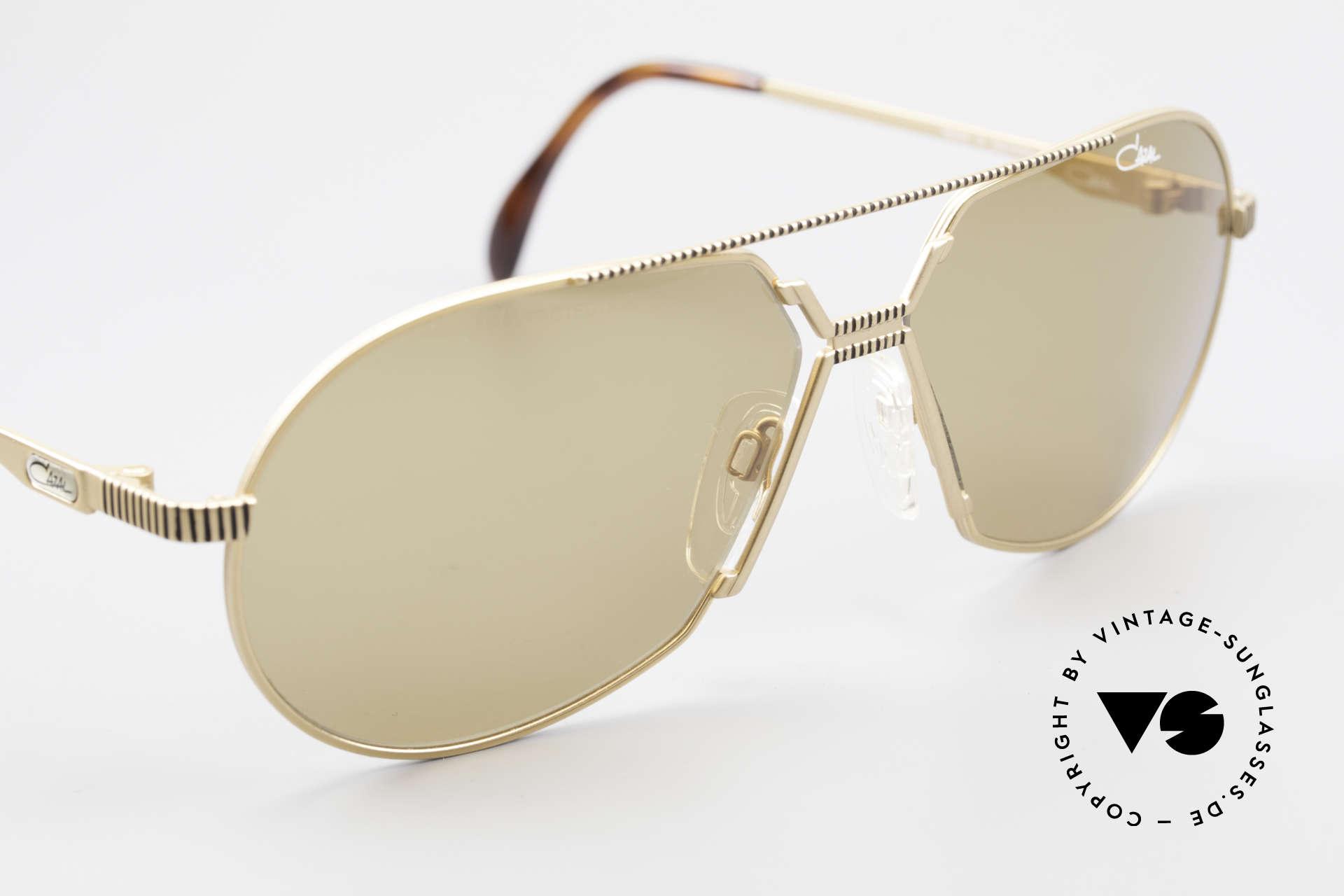 Cazal 968 Al Pacino Filmsonnenbrille, absolutes Sammlerstück (gehört eher ins Museum), Passend für Herren