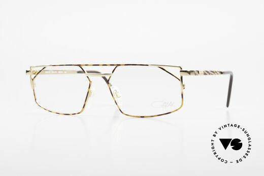 Cazal 751 Eckige Vintage Designerbrille Details