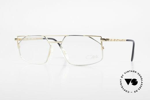 Cazal 751 Eckige Alte 90er Designerbrille Details
