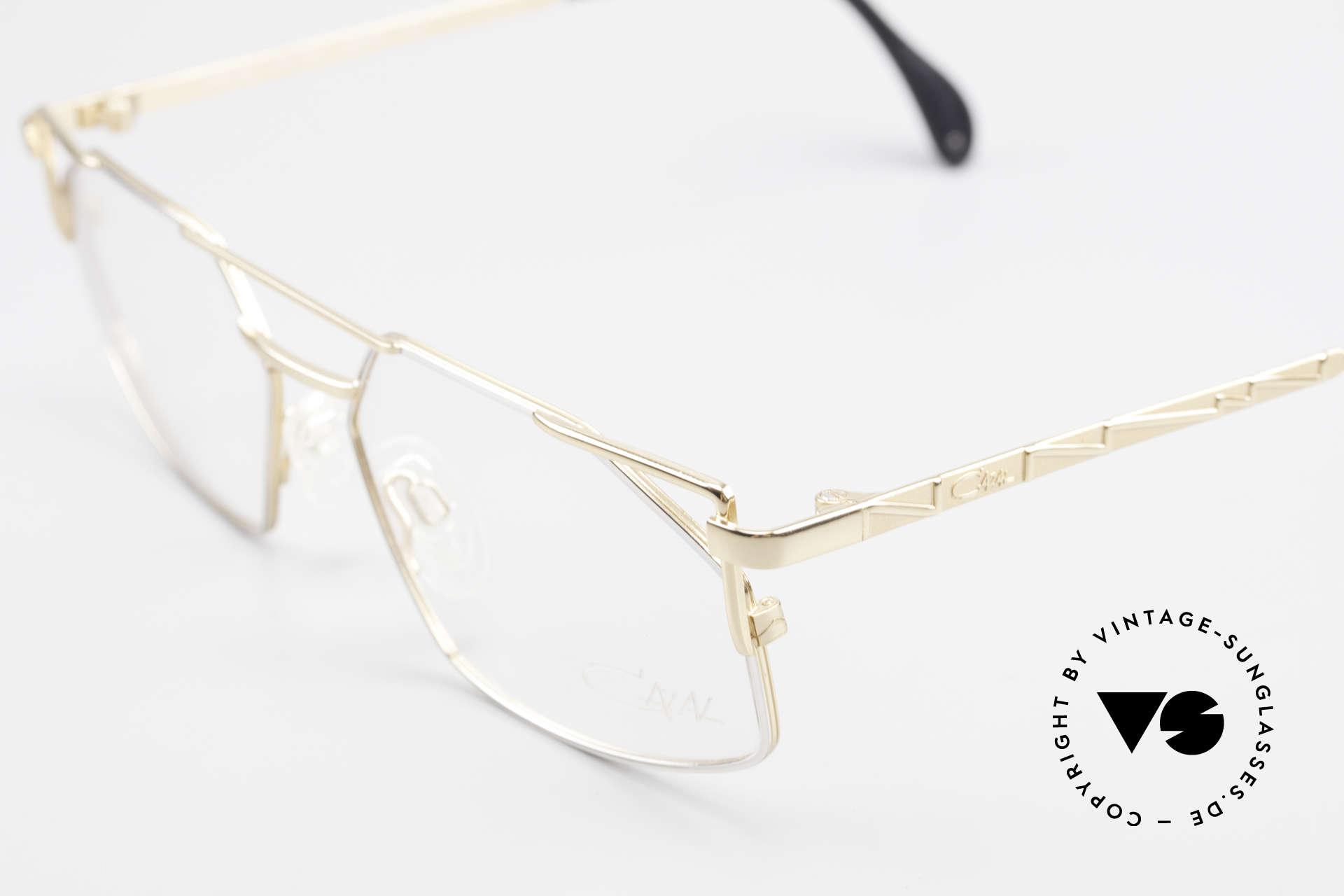 Cazal 751 Eckige Alte 90er Designerbrille, KEINE RETRObrille, sondern ein altes 90er Original!, Passend für Herren