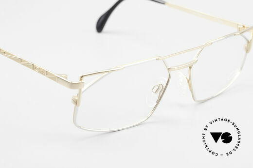 Cazal 751 Eckige Alte 90er Designerbrille
