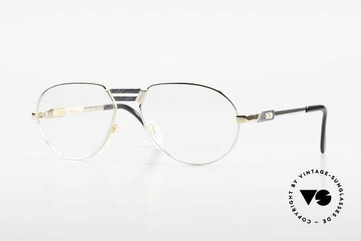 Cazal 739 Goldplattierte Brillenfassung Details