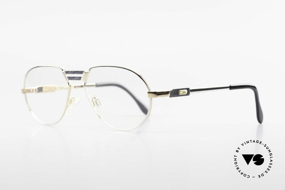 Cazal 739 Goldplattierte Brillenfassung
