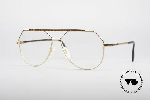 Cazal 733 1980er Herren Pilotenbrille Details
