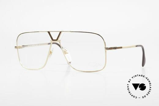 Cazal 725 Rare Vintage 80er Herrenbrille Details