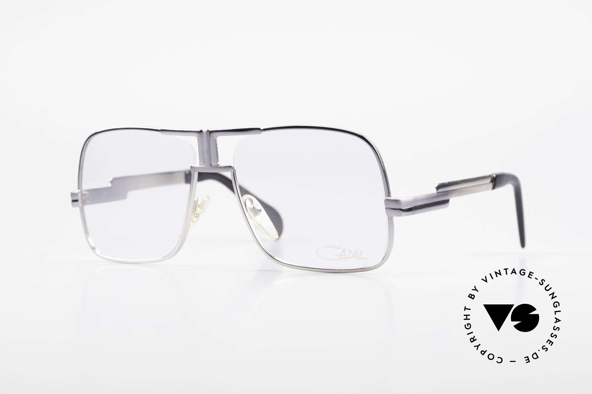 Cazal 701 Ultra Seltene Cazal 70er Brille, extrem seltene Cazal Brille aus den späten 1970ern, Passend für Herren