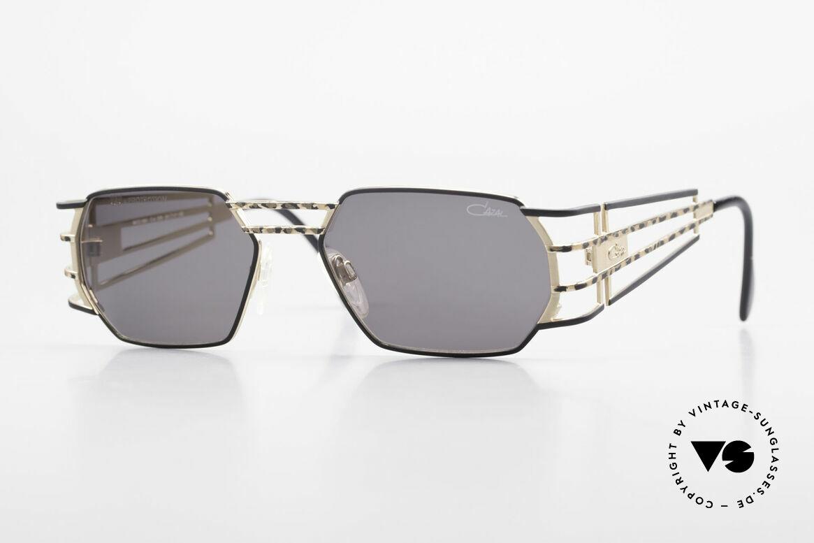 Cazal 980 Markante 90er Vintage Brille, futuristische vintage CAZAL Designer-Sonnenbrille, Passend für Herren und Damen
