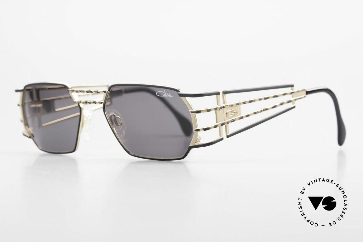 Cazal 980 Markante 90er Vintage Brille, exquisite Verarbeitungsqualität (made in Germany), Passend für Herren und Damen