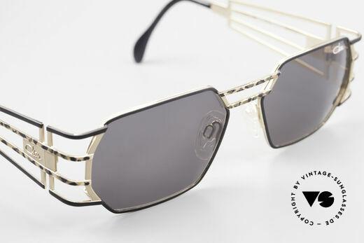 Cazal 980 Markante 90er Vintage Brille, mit original Cazal Sonnengläsern (100% UV Schutz), Passend für Herren und Damen